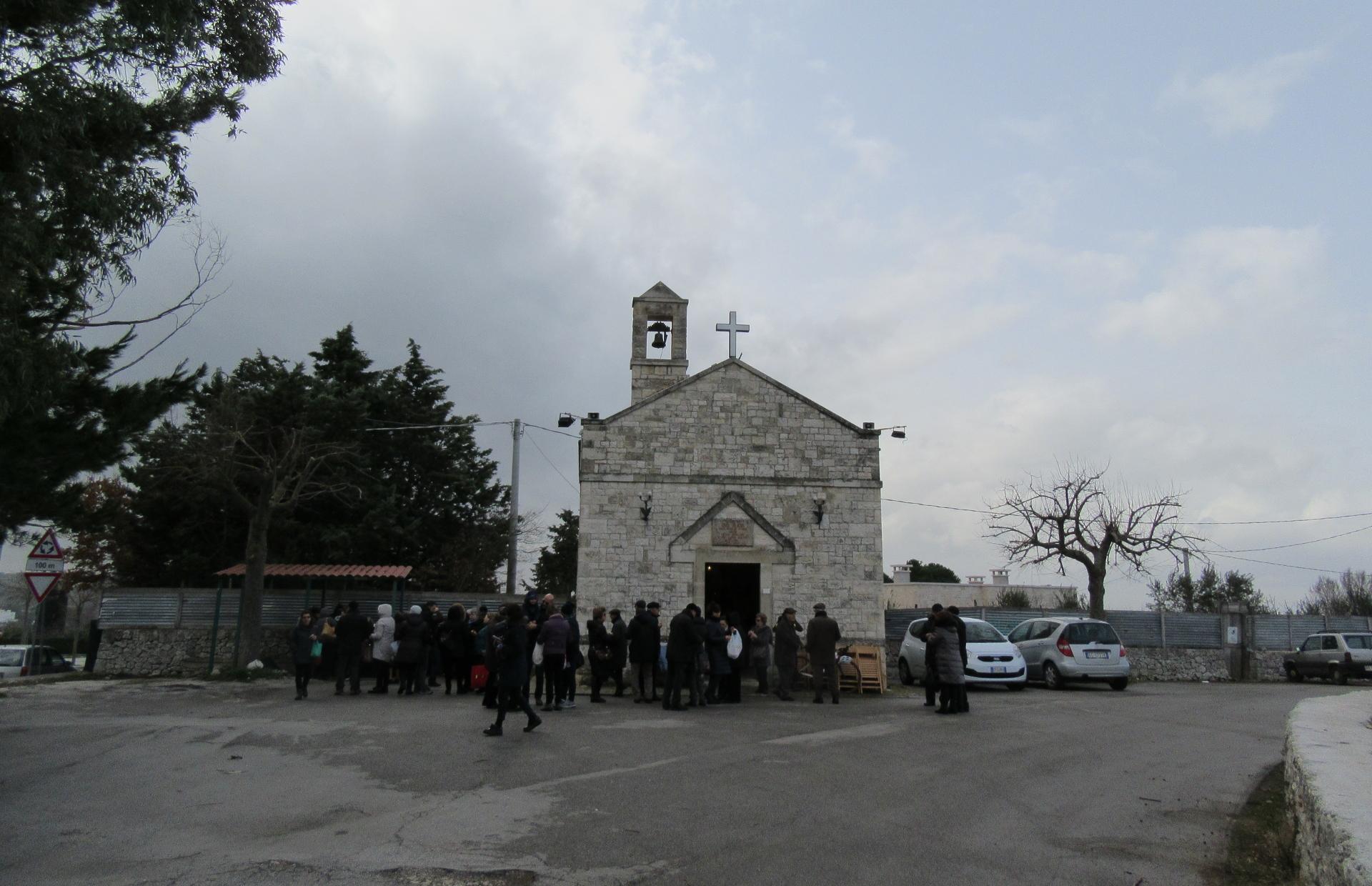 Festa di San Biagio nella omonima contrada a Putignano